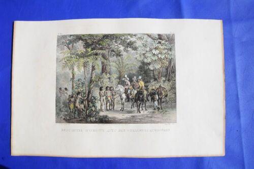 BRAZIL Rugendas Johnann Moritz 1835