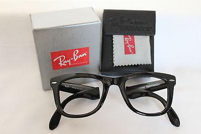 GENUINE AUTHENTIC RAYBAN 4105 FOLDING WAYFARER READING (Mens Wayfarer Reading Glasses)