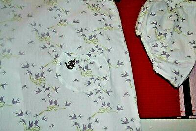 Robe baby dior 6 mois plus le blomer poche avec dc argente les hirondelles **