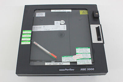 Partlow Mrc 5000 Series 54422031 Chart Recorder 2 Channels