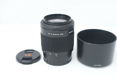 Sony SAL 55-200mm F4-5.6 Lens for Sony A-Mount SAL55200, Near Mint Condition