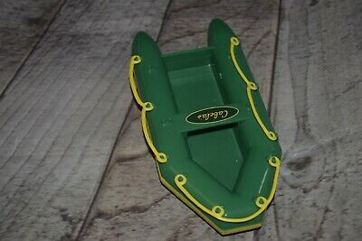 Cabela's Pretend Play Toy Boat Raft - Green trimmed in Yellow- Hunting Fishing  for sale  Grantsville