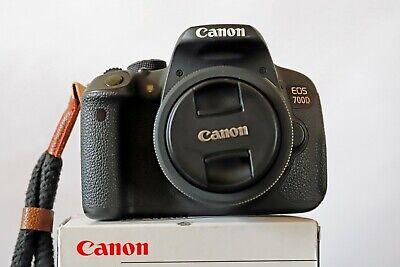 Canon EOS 700D 18.0 MP SLR-Digitalkamera - Schwarz incl. EF-S 24mm f/2.8 stm