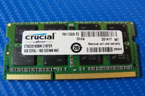 Crucial 8GB 1.6 GHz DDR3L SoDIMM Laptop Memory CT8G3S160BM
