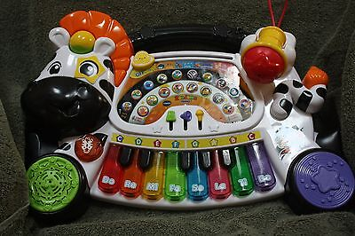 VTech Zoo Jamz Kids Toy Piano Baby Toddler Learning Instrument 4 in 1