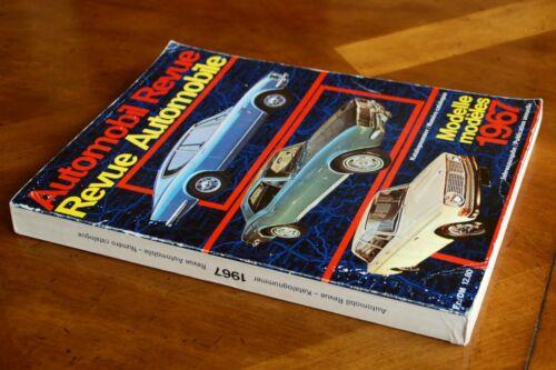 1967 Automobile Revue Catalogue (Hallwag)