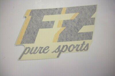 """""""FZ"""" Emblem Verkleidung rechts /  """"FZ""""  cowling RH, Yamaha FZ 750 , gebraucht gebraucht kaufen  Gütersloh"""