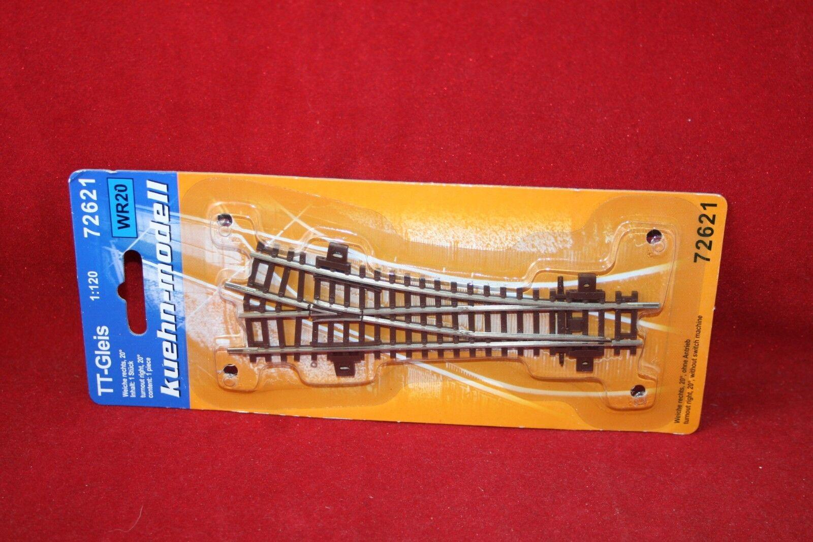 Kühn-modell Gleissystem Spur TT NEU