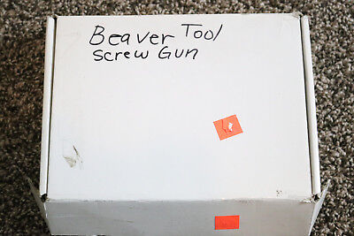 Discontinued Beaver Tool 14 Adjustable Cluch Screw Gun