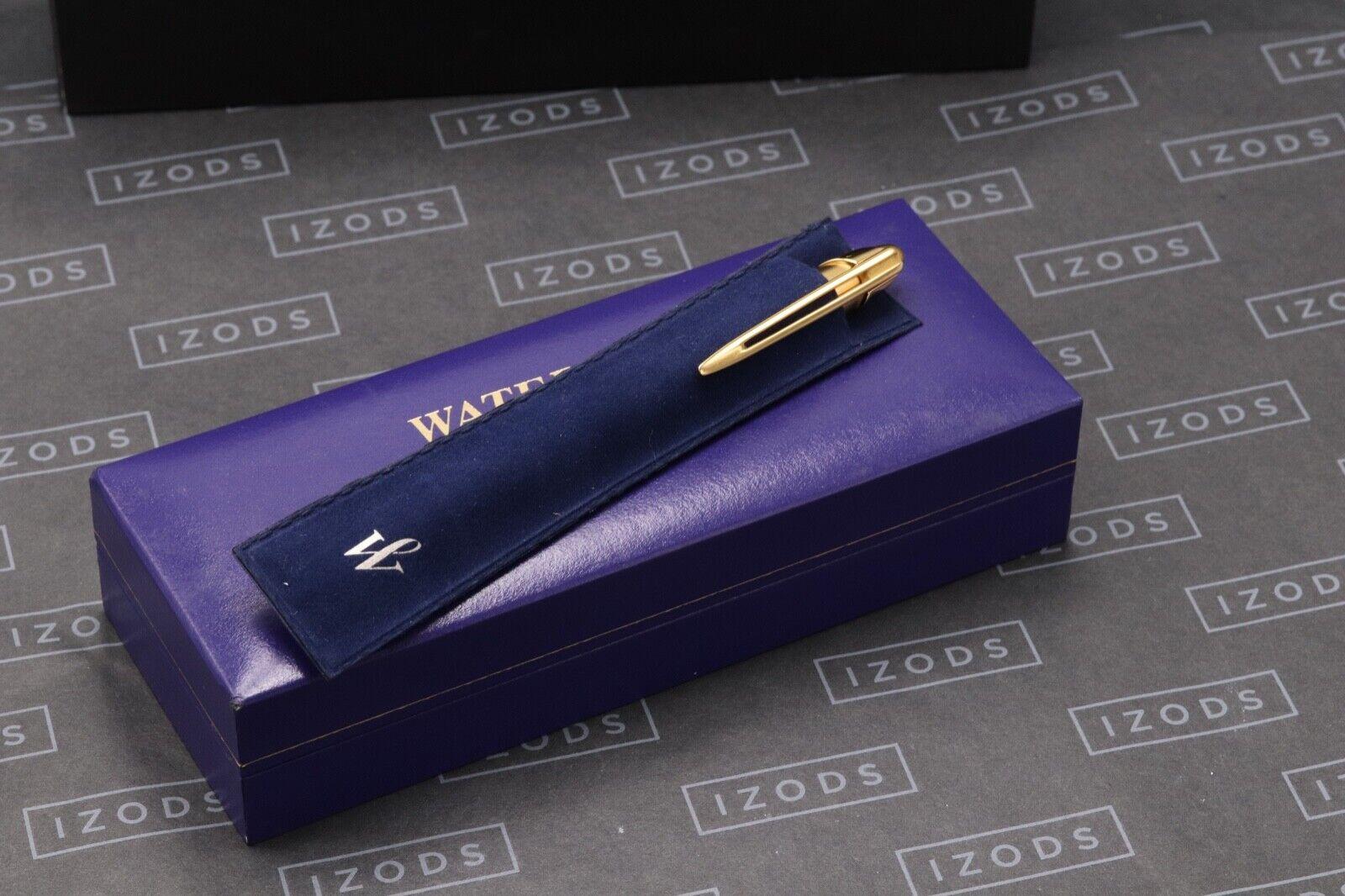 Waterman Edson Sapphire Blue Ballpoint Pen 5