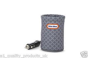 Little Tikes Bottle Warmer, Car Travel, Warms Quick, Baby Milk Heater, 12v, BNIB