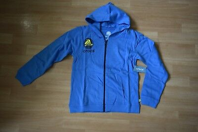 CROCS full zip hoody NEW age 7/8