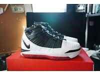 Nike Lebron 3 /'Home/' White Black Varsity Crimson AO2434-101 SIZE 11.5 BASKETBALL