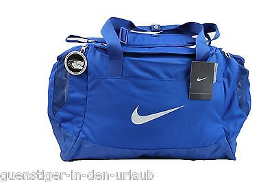 31ee0eb7591cf Nike Sporttasche Duffle Medium Club Team Swoosh blue Tasche Reisetasche NEU