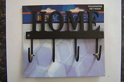 "Decorative Home Key Hook Hanger Rack Holder Wall Decor 4-1/2""X3"""