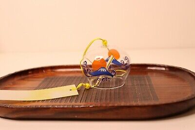 Windchime Bell Japanese With Fuji, Wind Chime Good Luck Charm