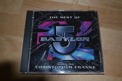 The Best Of Babylon 5 Christopher Franke CD OOP Sci Fi TV Series 1997 RARE