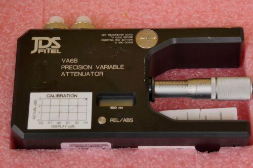 JDS Fitel VA6B Precision Variable Attenuator VA6B505-FPL