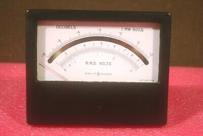 New Vintage Hp 1120-0098 Weston Instruments 1766 Dc Ma Meter From 1962 In Box