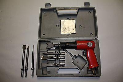 EINHELL Druckluftmeißelhammer Set Druckluft Meißelhammer Meissel Hammer