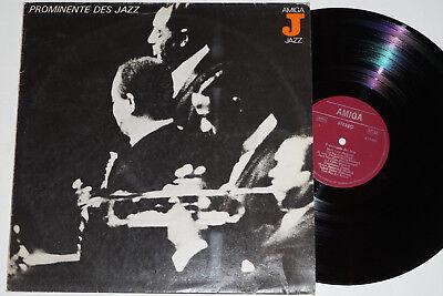 PROMINENTE DES JAZZ - (The Dave Brubeck Quartet...) LP Amiga Jazz (8 55 083)