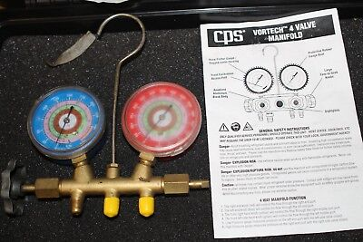 Ritchie Yellow Jacket Ac Hvac Brass Testing Charging 3 Valve Manifold 3d