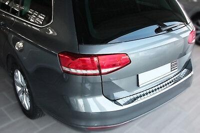 LADEKANTENSCHUTZ EDELSTAHL CHROM für VW PASSAT B8 VARIANT ab 2014, mit ABKANTUNG