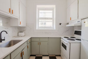 Modern furnished 3 bedroom apartment- 5 1/2 steps from Concordia