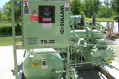 Sullair TS32 400 hp.460  Rotary Screw air compressor Variable capacity, warranty