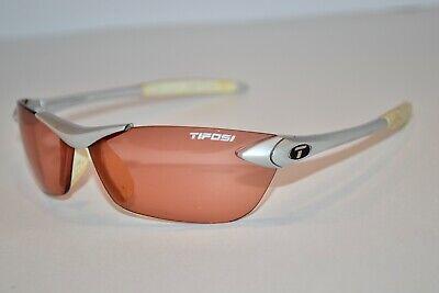 Used Tifosi Sport Cycle Rimless Men Womens Unisex Sunglasses Silver (Tifosi Sport Sunglasses)