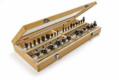 New Irwin Tools Marples Master Router Bits 30 Piece Set 1901049