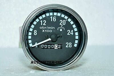 Mechanical Tachometer 85 Mm Size With M18x1.5 Thread Connection 2800 Rpm