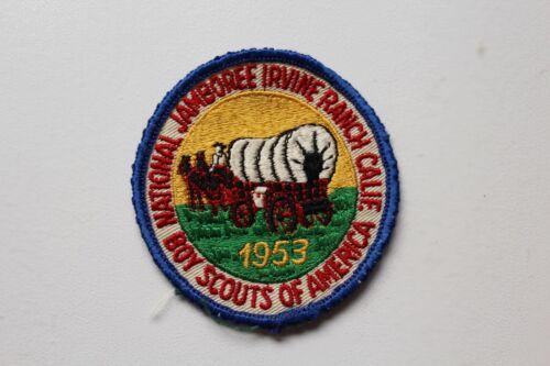 Vintage BSA Boy Scouts 1953 Jamboree Irvine Ranch California Patch /A34