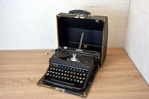 Antike Schreibmaschine Triumph Perfekt 1948 Typewriter