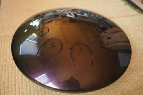 "Zen Tambour E Akabono by Steve "" Spike "" Finch. Handpan #399. Not hang drum"