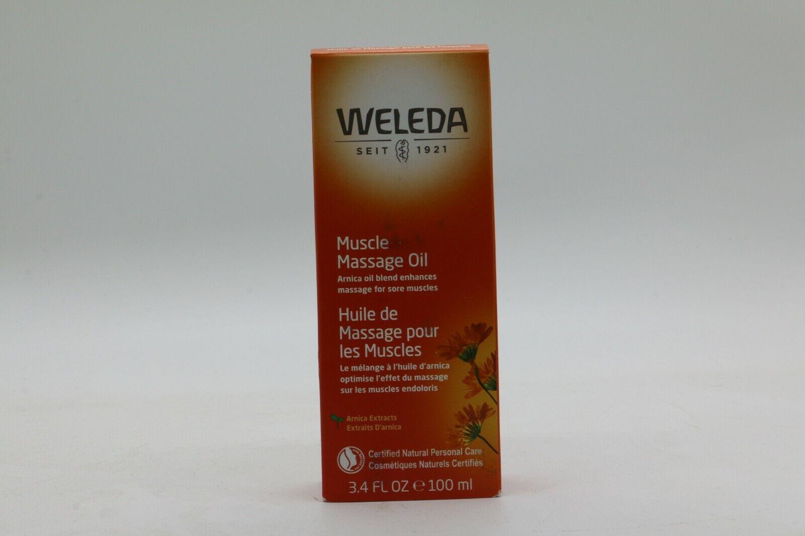 Weleda Arnica Massage Oil 100ml/3.4oz