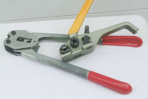 "Strap Tensioner Tool and  1/2"" Crimper"