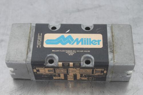 MILLER FLUID POWER 310 PNEUMATIC AIR VALVE