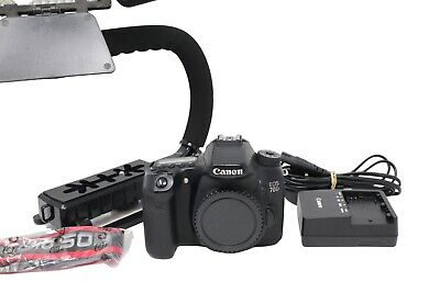 Canon 70D DSLR Camera 20.2MP Body Only, Shutter Count 14915, Good Condition