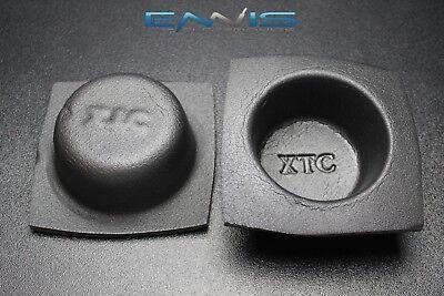 (2 PCS SPEAKER BAFFLE ACOUSTIC FOAM 5.25'' ROUND SHALLOW CAR AUDIO BASS VXT52)