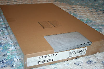 Ikea Karlstad Sofa Slipcover Cover Knisa Light Gray Grey 603 230 16 New
