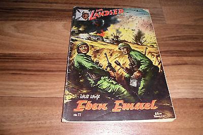 LANDSER # 11 -- EBEN EMAEL // der Sprung in die Hölle / Original-Druck 1960er
