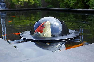 Velda Floating Fish Dome Treibende Beobachtungskubel für Teichfische 35 cm