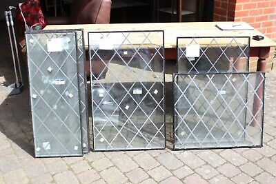 A Selection of Leaded Duplex Glazed Windows