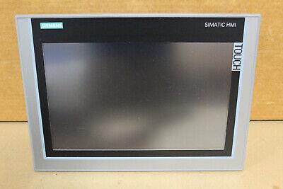 Siemens 6av2 124-0mc01-0ax0 Simatic Hmi Touch Tp1200 Comfort