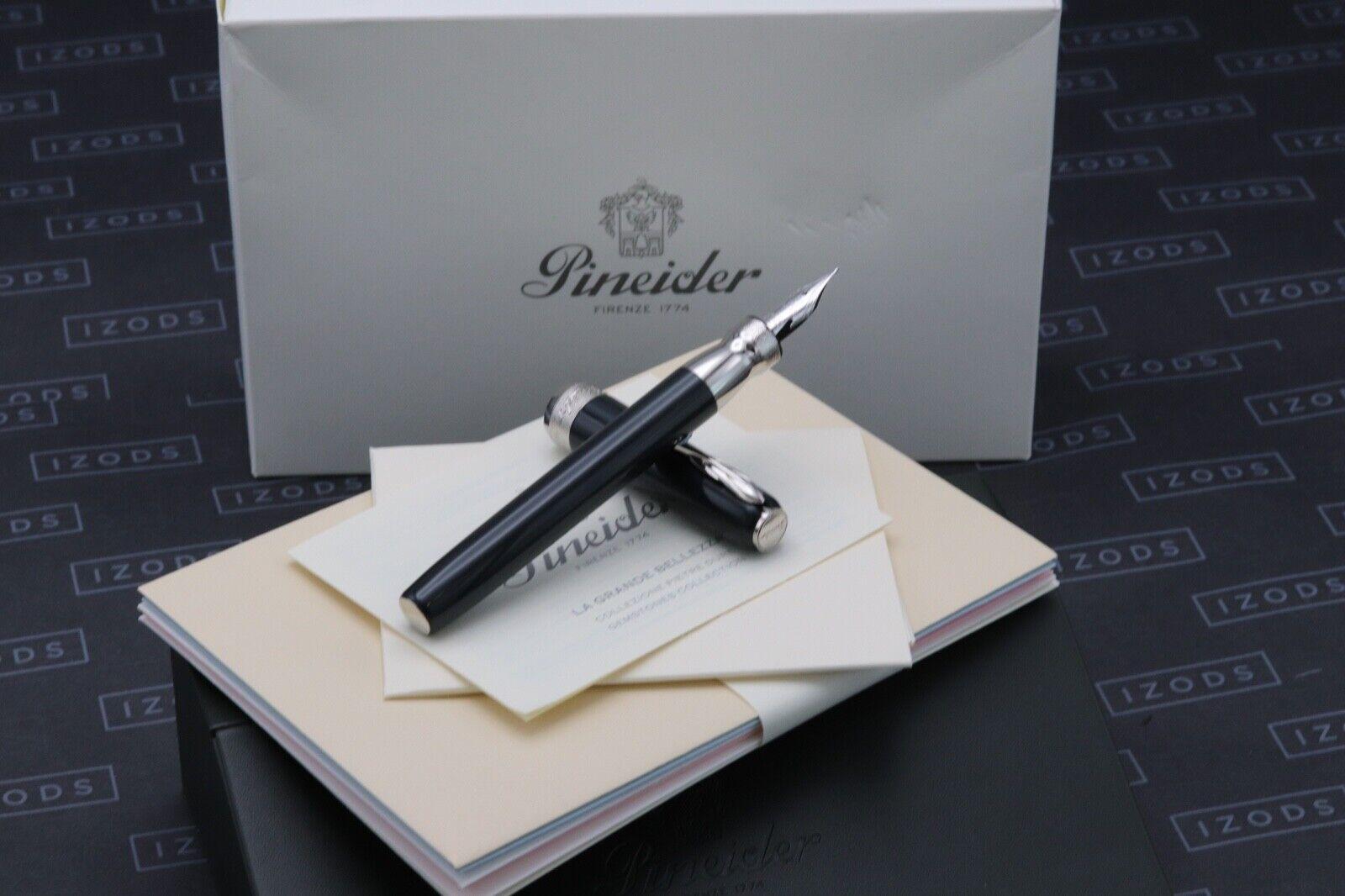 Pineider La Grande Bellezza Gemstones Hematite Grey Fountain Pen