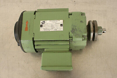Acc K62 S2 Electric Saw Arbor Motor Woodworking Motor 230460v 3450rpm 1hp