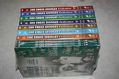 The Three Stooges Collection, Volumes 1, 2, 3, 4, 5, 6, 7, & 8 DVD *Brand New*