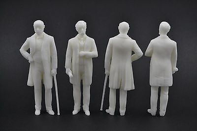 Karl Benz   Gottlieb Daimler Figures For 1 18 Mercedes Norev
