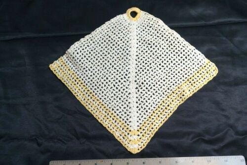 vintage crochet pot holder